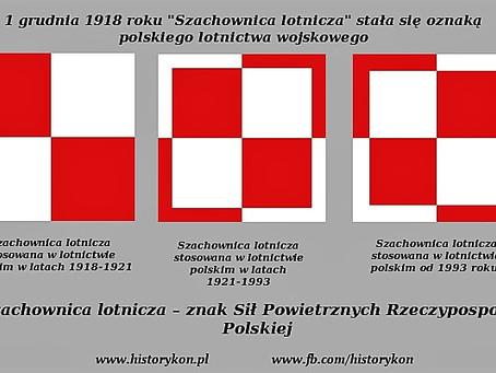 Biało-czerwona szachownica