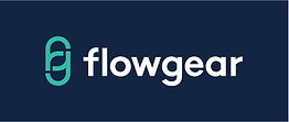 Flowgear Logo On Navy.png