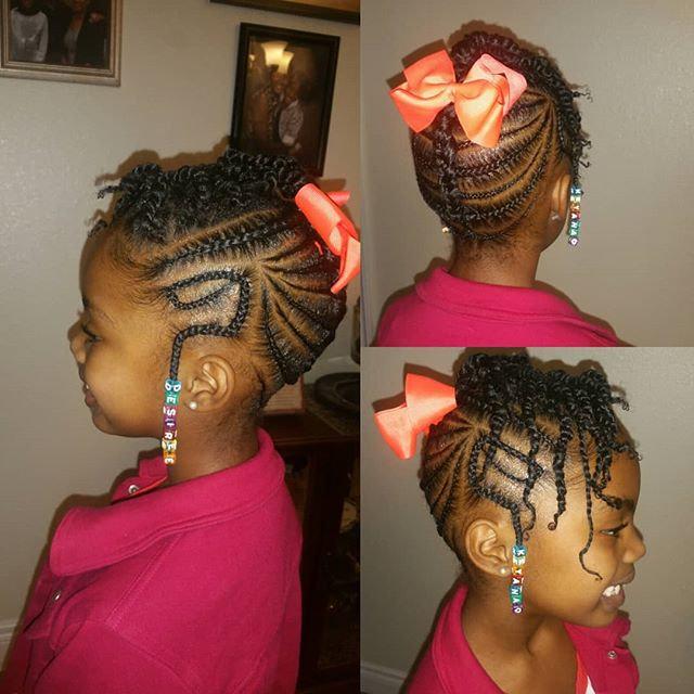 KID Natural Braids:NO HAIR ADD