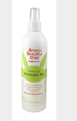 Ampro Beautiful Child Detangling Spray 12oz