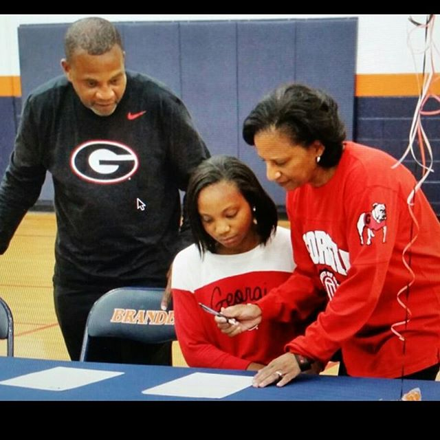 I GOT GEORGIA ON MY MIND _ Juggernaut PG _gabbyconnally finally signed her letter of intent to atten