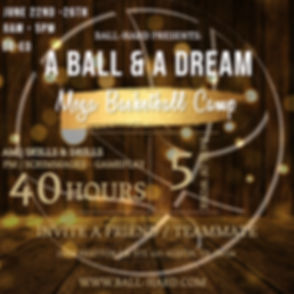 A BALL AND A DREAM - Made with PosterMyW