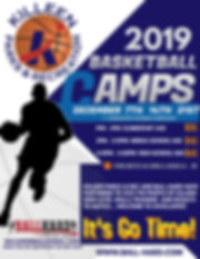 Copy of Copy of Basketball Camp Flyer Te