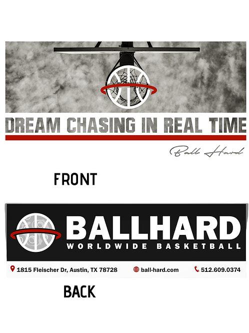Ball-Hard Long Sleeve Drifit (Dream) White Shirt