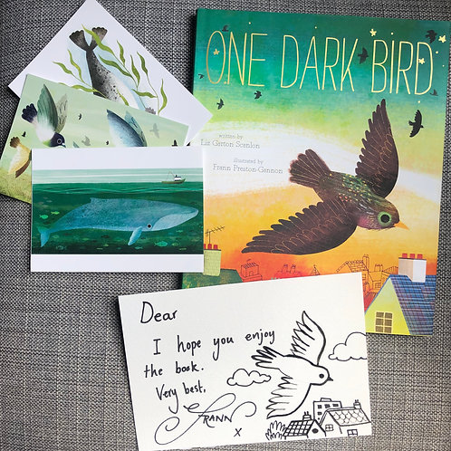 One Dark Bird Gift Set