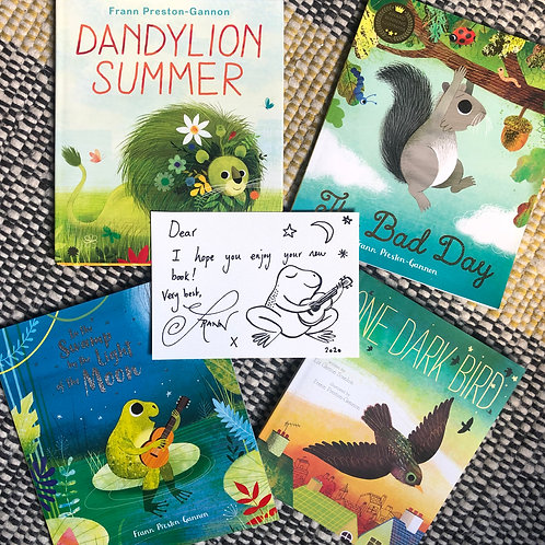 Signed Picture Book Bundle