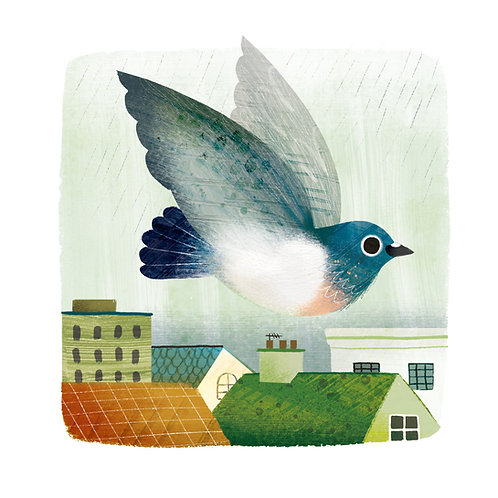 Pigeon Giclée Print