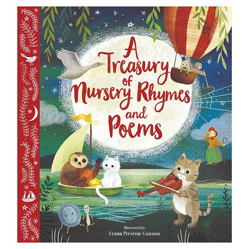 A Treasury of Nursery Rhymes & Poems - Signed Hardback