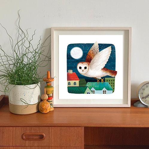 Owl Giclée Print