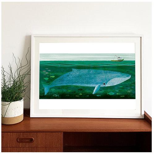 Whale Giclée Print