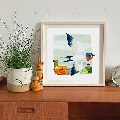 Swallow Giclée Print