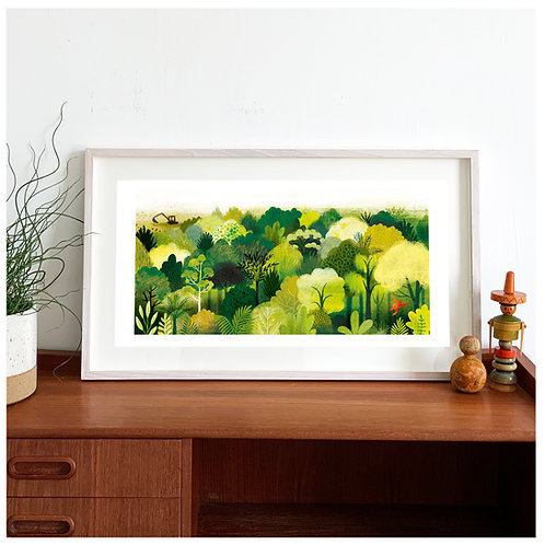 Rainforest Giclée Print
