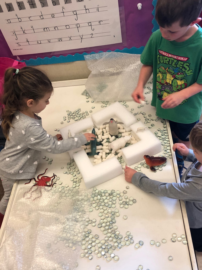 oakview students craft project