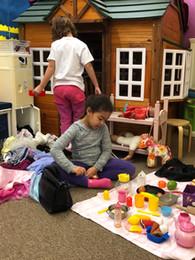 oakview preschool dollhouse play