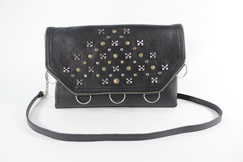 Leather Rock Style Handbag