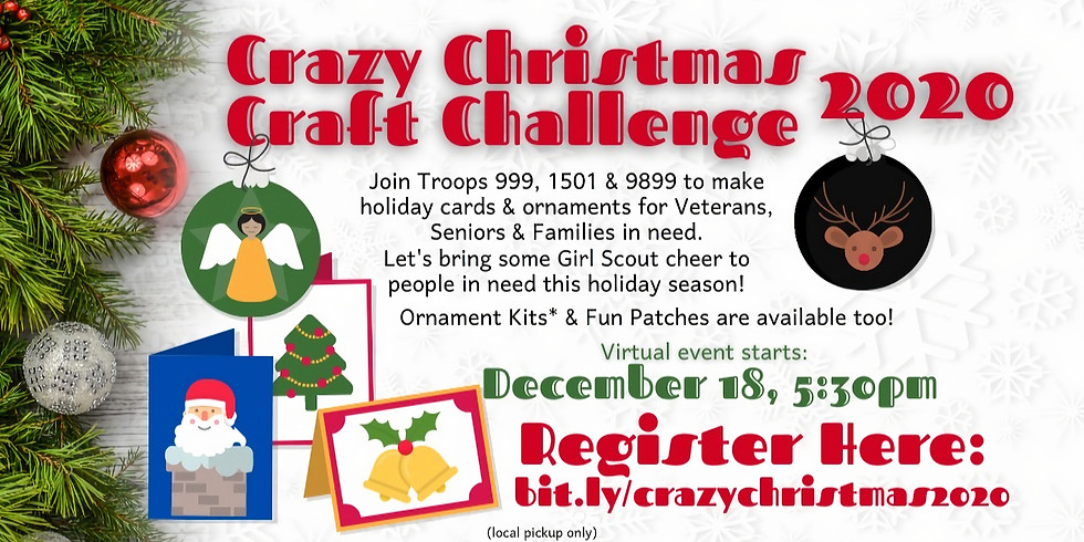 Crazy Christmas Crafting Challenge 2020