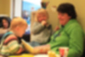 Coffee Tots Coventry, story time at toddler group