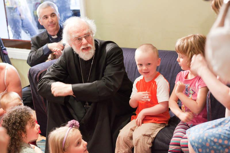 Archbishop visits Coffee Tots