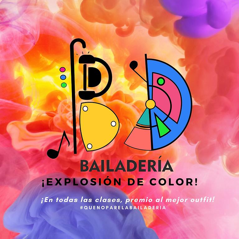 ¡Explosión de color!