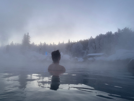 Chena Hot Springs -45 Below
