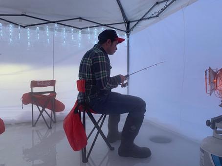 Top Secret Ice Fishing Spot