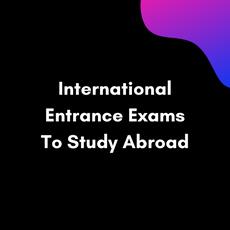 International Entrance Exams