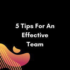 5 Tips For An Effective Team