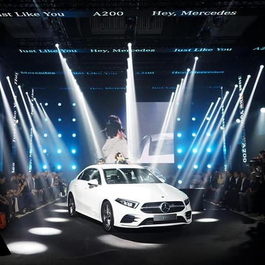 Mercedes Benz A Class Launch