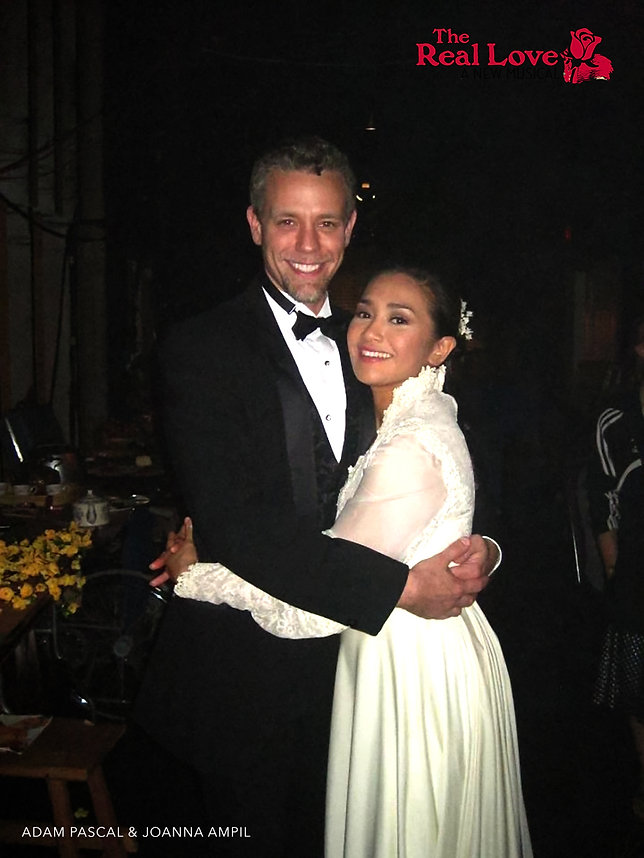 JOANNA AMPIL ADAM PASCAL THE REAL LOVE WEST END