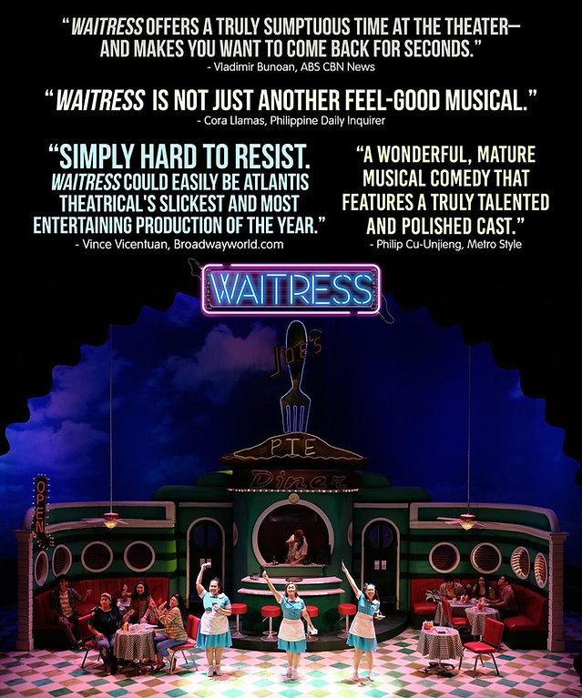 WAITRESS MUSICAL JOANNA AMPIL  JENNA WEST END MANILA