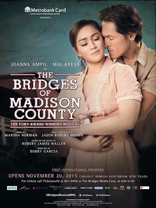 JOANNA AMPIL BRIDGES OF MADISON COUNTY