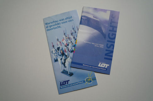 LOT Polish Airlines strategy, concept and baseline