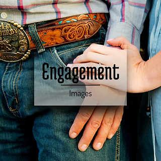 Buckskin and Blue Engagment Images