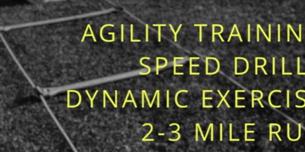 Agility Drills & Strength Building
