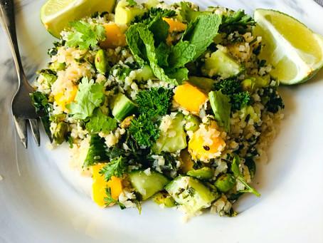 Fresh Cauliflower Rice Salad