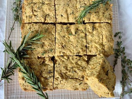 Cornbread with Fresh Herbs