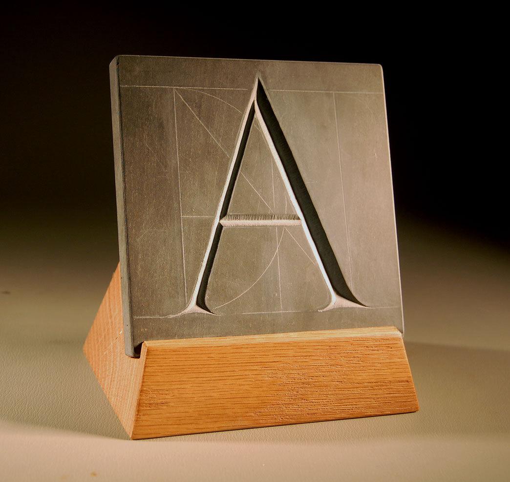 """TRAJAN LETTER """"A"""""""