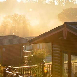 Sunrise at FInchale Abbey Village
