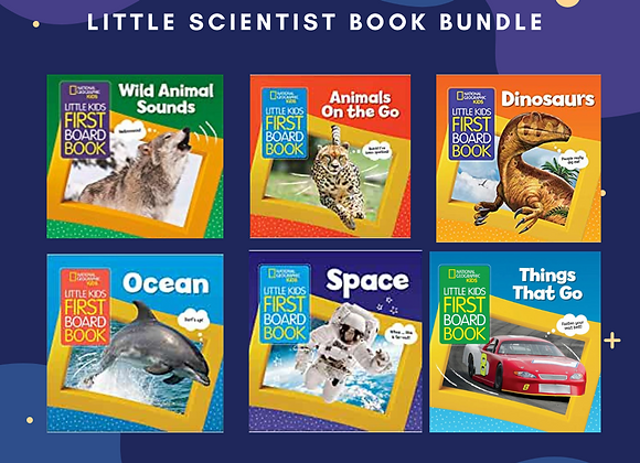 Little Scientist Book Bundle