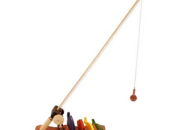 Wooden Fishing Rod