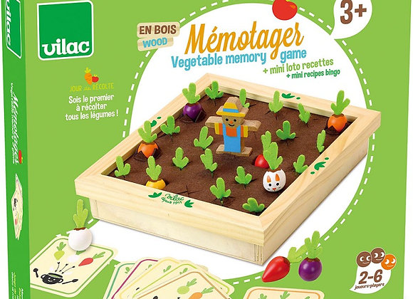 Vegetable Garden Memory Game by Vilac