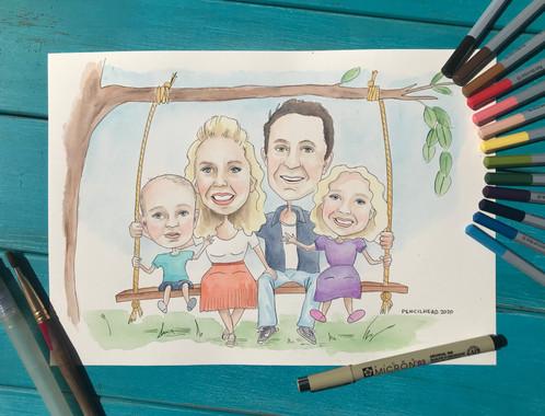 Caricature%20-%20family%20on%20swing_edi