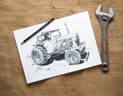Tractor - graphite