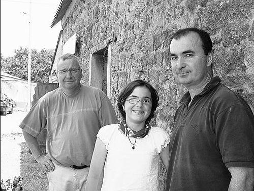 Solange et Eric Roussel auteur du concept de marché à la ferme. la Ferme De Kérautret Tréméoc
