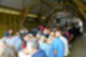 Dimanche, plus de 200 personnes ont répondu à l'invitation du Gab29 La Ferme de Kérautret Tréméoc
