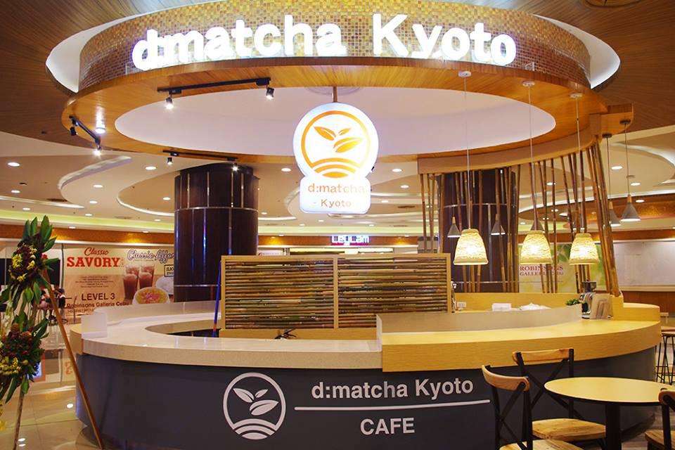 d:matcha tea cafe in Cebu, Philippines