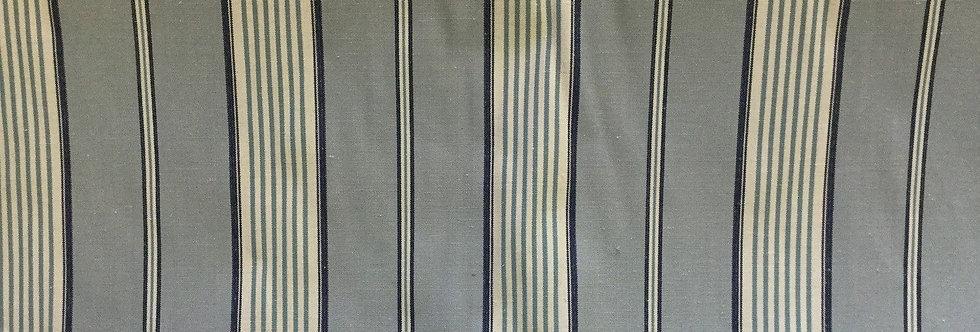Stripe - Blue/White Fabric
