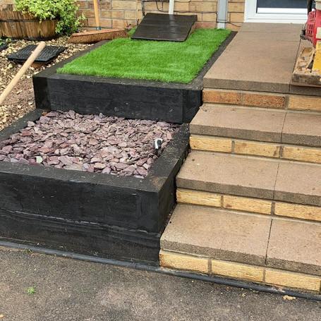 steps finished