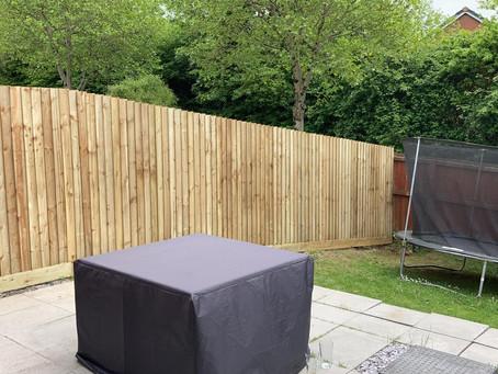 fencing at ward jones groundworks