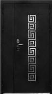 входная дверь полуторостворчатая